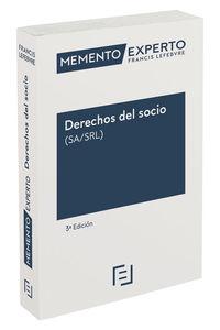 (3 Ed) Memento Experto Derechos Del Socio (sa / Srl) - Aa. Vv.