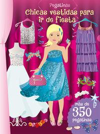 Chicas Vestidas Para Ir De Fiesta (pegatinas) - Aa. Vv.