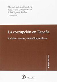 Corrupcion En España - Aa. Vv.