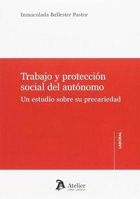 TRABAJO Y PROTECCION SOCIAL DEL AUTONOMO