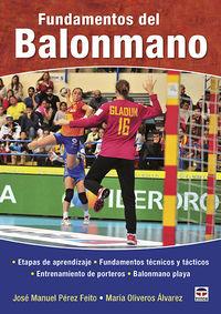 FUNDAMENTOS DEL BALONMANO - ETAPAS DE APRENDIZAJE, FUNDAMENTOS TECNICOS Y TACTICOS, ENTRENAMIENTO DE PORTEROS, BALONMANO PLAYA