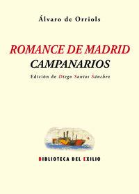 ROMANCE DE MADRID - CAMPANARIOS