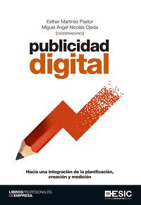PUBLICIDAD DIGITAL - HACIA UNA INTEGRACION DE LA PLANIFICACION, CREACION Y MEDICION