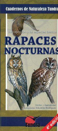 (4 ED) RAPACES NOCTURNAS - CUADERNOS DE NATURALEZA