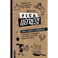 Pica Lletres - Jocs I Mots A Cabassos - Aa. Vv.