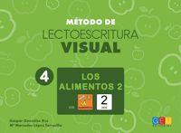 METODO DE LECTOESCRITURA VISUAL 4 - LOS ALIMENTOS 2