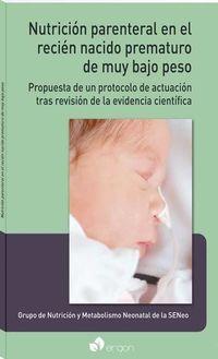 NUTRICION PARENTERAL EN EL RECIEN NACIDO PREMATURO DE MUY BAJO PESO