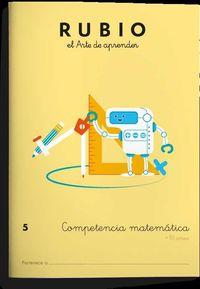 COMPETENCIA MATEMATICA 5 (+10 AÑOS)
