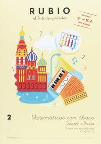 MATEMATICAS CON ABACO 2 (AB2) - DESCUBRE RUSIA