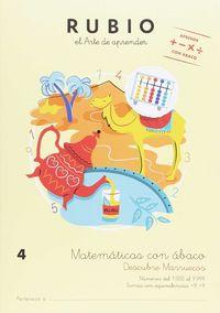 MATEMATICAS CON ABACO 4 (AB4) - DESCUBRE MARRUECOS