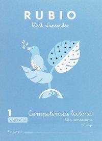 COMPETENCIA LECTORA 1 - MON SENSACIONS (VAL)