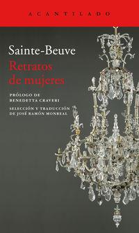 Retratos De Mujeres - Charles-Agustin Saint-Beauve