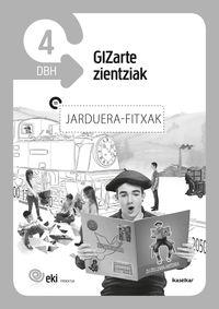 DBH 4 - EKI - GIZARTE ZIENTZIAK 4 - JARDUERA FITXAK