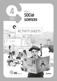 DBH 4 - EKI - SOCIAL SCIENCES 4 - ACTIVITY SHEETS