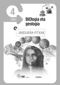 DBH 4 - EKI - BIOLOGIA ETA GEOLOGIA 4 - JARDUERA FITXAK