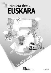 Lh 5 - Eki - Euskara - Jarduera Fitxak 5 - Batzuk