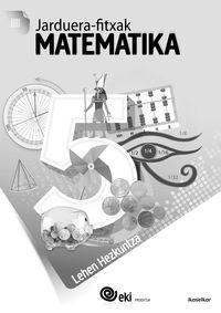 LH 5 - EKI - MATEMATIKA - JARDUERA FITXAK 5