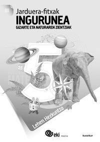 Lh 5 - Eki - Ingurunea - Jarduera Fitxak 5 - Batzuk