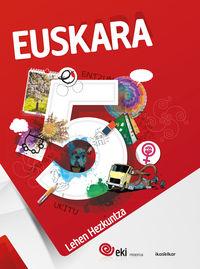 LH 5 - EKI - EUSKARA 5 (PACK 3)