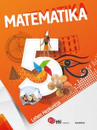 Lh 5 - Eki - Matematika 5 (pack 3) - Batzuk