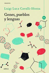 Genes, Pueblos Y Lenguas - Luca Cavalli-sforza