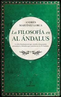 La filosofia en al andalus - Andres Martinez Lorca