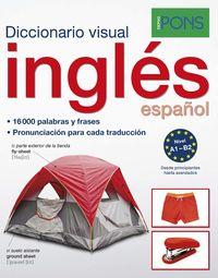 DICCIONARIO PONS VISUAL INGLES / ESPAÑOL