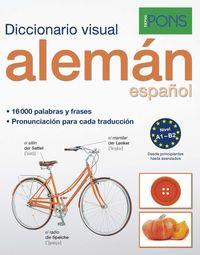 DICCIONARIO PONS VISUAL ALEMAN / ESPAÑOL