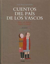cuentos del pais de los vascos - Juan Kruz Igerabide / Elena Odriozola (il. )