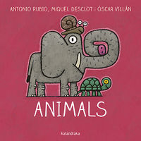Animals (cat) - Antonio Rubio / Oscar Villan (il. )