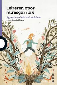 Leireren Opor Miresgarriak - Agurtzane Ortiz De Landaluze