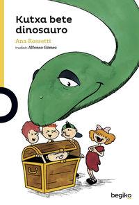 Kutxa Bete Dinosauro - Ana Rossetti