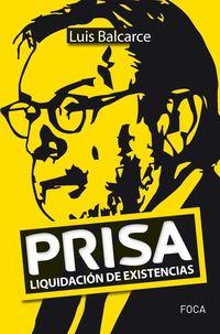 PRISA - LIQUIDACION DE EXISTENCIAS