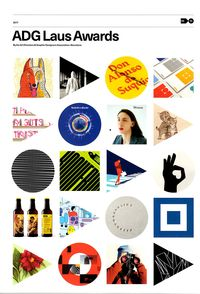 ADG LAUS AWARDS - BY THE ART DIRECTORS & GRAPHIC DESIGNERS ASSOCIATION. BARCELONA