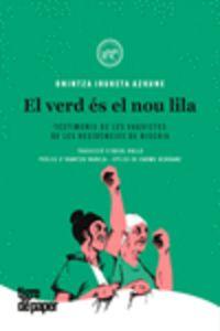 El verd es el nou lila - Onintza Irureta