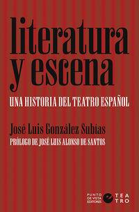 LITERATURA Y ESCENA