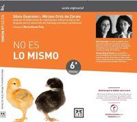 (6 Ed) No Es Lo Mismo - Guarnieri Silvi