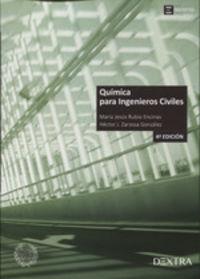 (4 Ed) Quimica Para Ingenieros Civiles - Maria Jesus Rubio