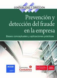 PREVENCION Y DETECCION DEL FRAUDE EN LA EMPRESA