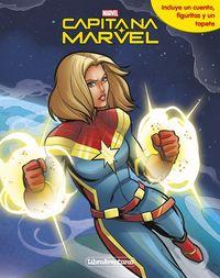 Capitana Marvel - Libroaventuras - Libro-Juego - Incluye Un Tablero Y Figuras Para Jugar - Aa. Vv.