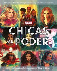 Marvel - Chicas Al Poder - Libro Ilustrado - Aa. Vv.