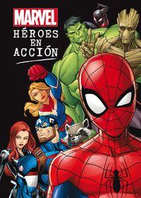 marvel - heroes en accion - recopilatio cuentos - Aa. Vv.