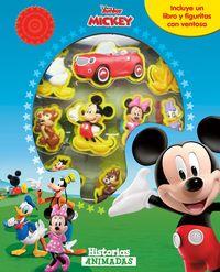 Mickey - Historias Animadas - Incluye Un Libro Y Figuritas Con Ventosa - Aa. Vv.