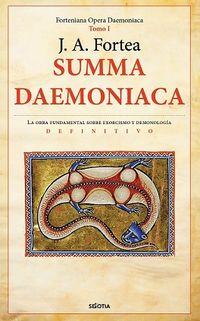 SUMMA DAEMONIACA - TRATADO DE DEMONOLOGIA Y MANUAL DE EXORCISTAS