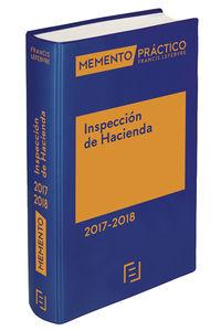 Memento Practico Inspeccion De Hacienda 2017-2018 - Aa. Vv.