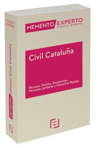(2 ED) MEMENTO EXPERTO CIVIL CATALUÑA