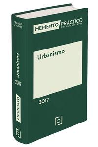 MEMENTO PRACTICO DE URBANISMO 2017