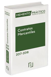 MEMENTO PRACTICO CONTRATOS MERCANTILES 2017-2018
