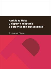 ACTIVIDAD FISICA Y DEPORTE ADAPTADO A PERSONAS CON DISCAPACIDAD