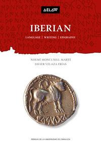 IBERIAN - LANGUAGE, WRITING, EPYGRAPHY